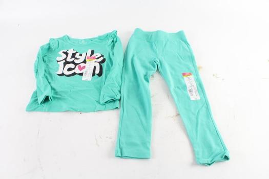 Okie Dokie Toddler Girls Clothes, 2 Pieces