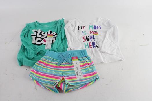 Okie Dokie Toddler Girls Clothes, 3 Pieces