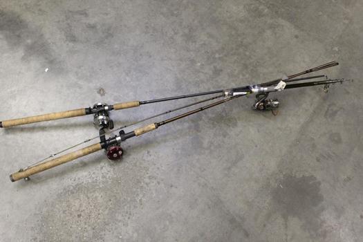 Okuma, Lamiglas, Sougaylang Fishing Poles, 3 Pieces