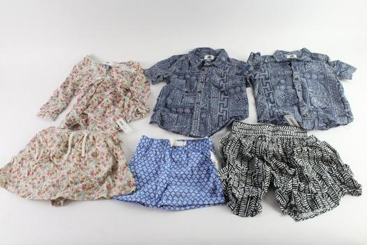 Old Navy And Other Brand Baby/Kids Clothing, 5 Pieces