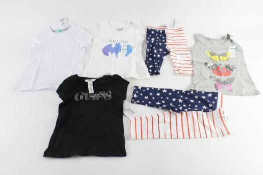Old Navy And Other Brands Baby/Kids Clothing, 6 Pieces