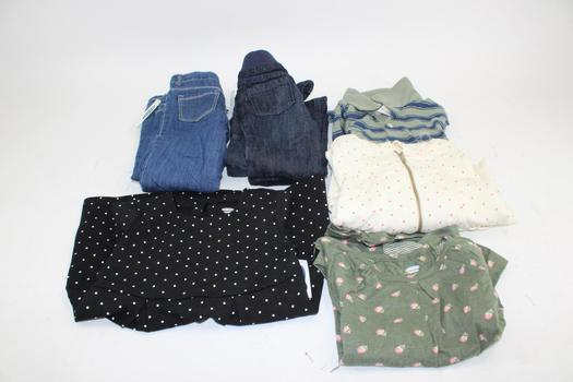 Old Navy Girl's Clothing & The Children's Place Boys Shirt; 6 Pieces