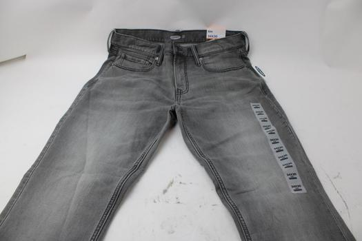 Old Navy Slim Built In Flex Jeans Size 34x30