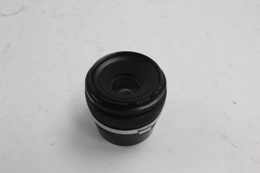 Olympus 80mm Macro Lens W/lens Caps