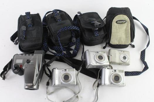 Olympus And Other Digital Cameras, 5+ Pieces