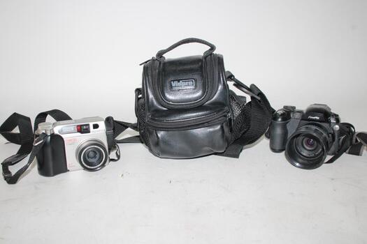 Olympus Camedia And Fujifilm FinePix Digital Cameras