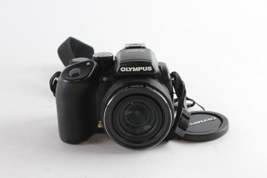 Olympus SP-57OUZ, Item Non-functioning, Sold For Parts