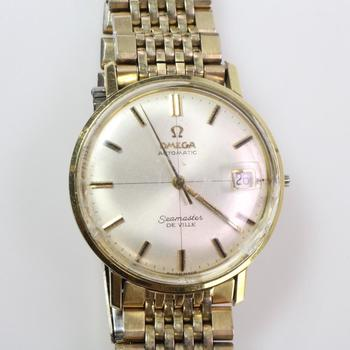 Omega Seamaster Deville Gold Plated Watch - Evaluated By Independent Specialist