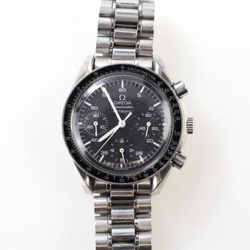 Omega Speedmaster Reduced Chronograph Watch - Evaluated by Independent Specialist