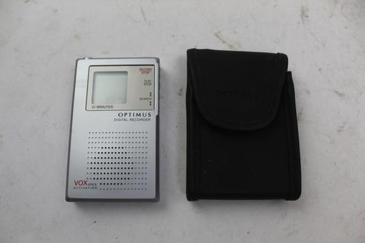 Optimus Digital Recorder