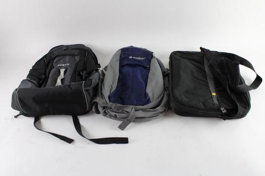Orben And Other Backpack, And More, 3 Pieces