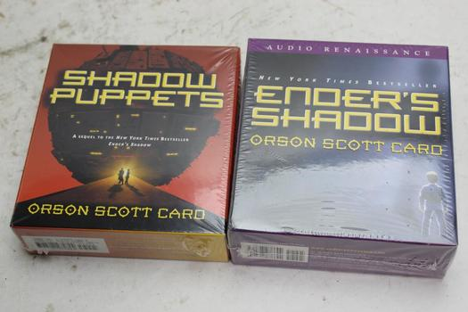 Orson Scott Card Audiobooks 2 Pieces