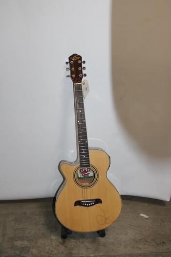 Oscar Schmidt Acoustic Guitar OG10CENLH