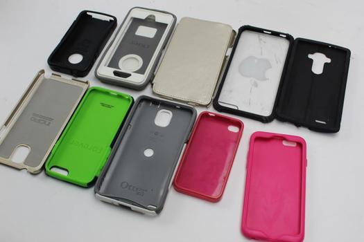 Otter Box, Incipio+ More Assorted Phone Cases 10 Pieces