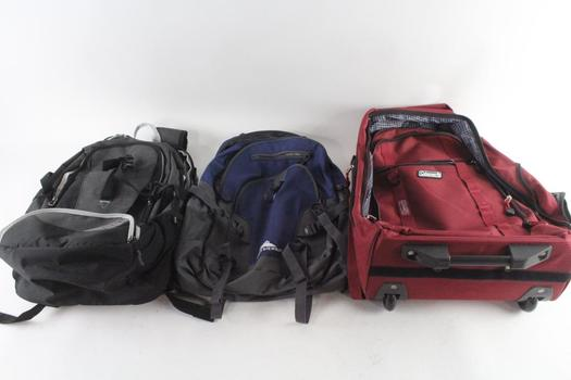 Ozark Trail And Other Backpacks, 3 Pieces