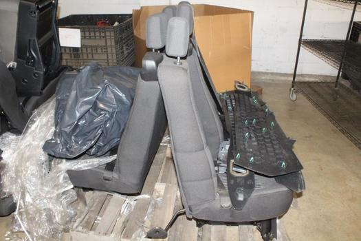Pallet Of Ford Vehicle Seats And More, 7 Pieces