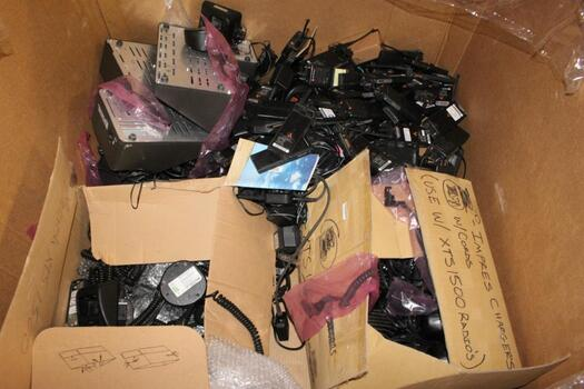 Pallet Of Motorola Radios, And More, 40+ Pieces