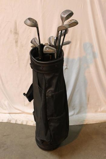 Palm Springs Bag With Clubs, 10+ Pieces