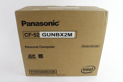 Panasonic CF-52 Laptop, New In Box