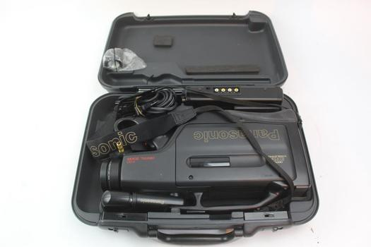 Panasonic OmniMovie Vhs HQ Video Recorder In Case