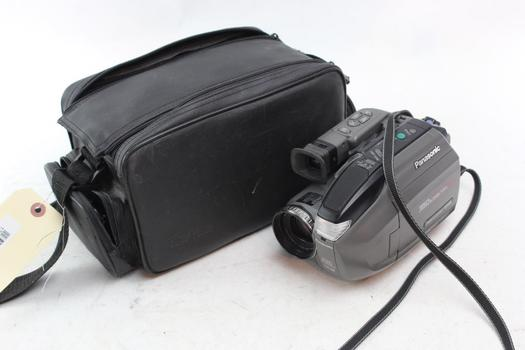 Panasonic Pv-L680D Palmcorder Vhs C Video Camera
