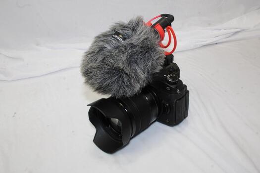 PanasonicLUMIX 4K Camera And Rode Video Mic