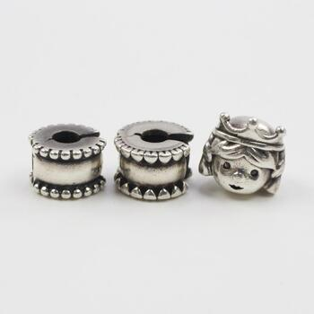 Pandora Silver Charms And Charm Clips