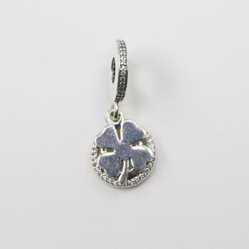 """Pandora Silver """"Lucky Day"""" Charm"""