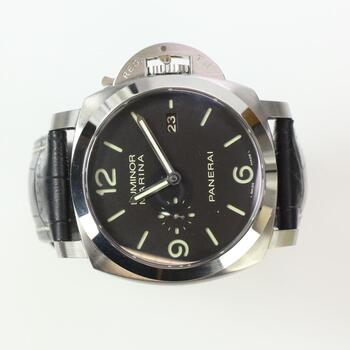 Panerai Luminor Marina Watch In Box - Evaluated By Independent Specialist