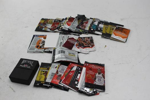 Panini, Press Pass+ More Assorted Sports Cards 10+ Pieces