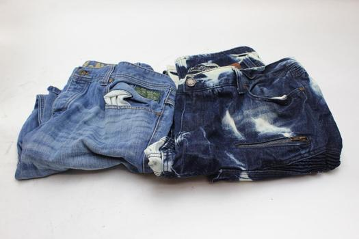 Parish And The Heritage By America Men's Jeans, 2 Pieces