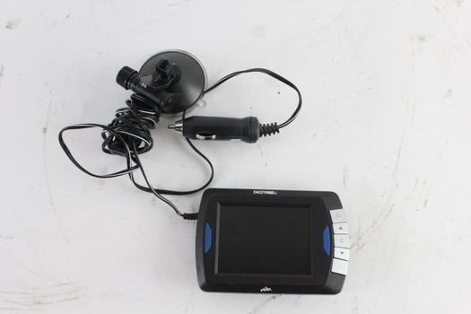 Peak Receiver/Transmitter Display For Back-Up Camera