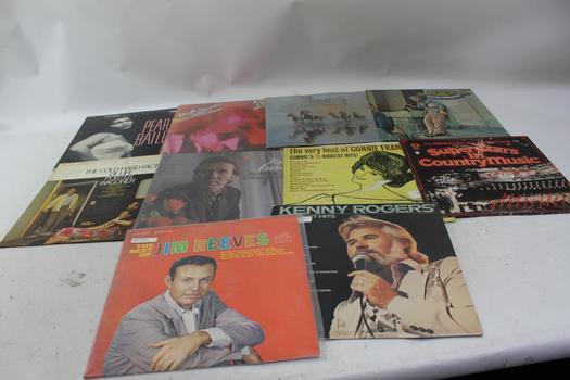 Pearl Bailey, Bob Seger, Kenny Rogers+ More Vinyl Records 10 Pieces