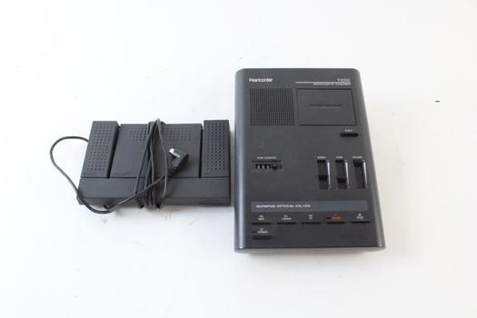 Pearlcorder Microcassette Transcriber