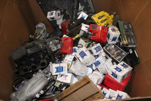 Pellet Of Car Parts, Tools And More, 40+ Pieces