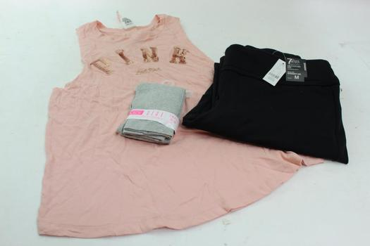 Pink, The Childrens Place, 7th Avenue Clothing Lot, 3  Pieces