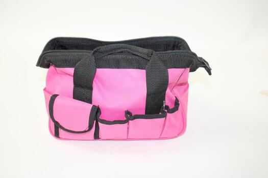 Pink Tool Bag With Tools, 5 Plus Pieces