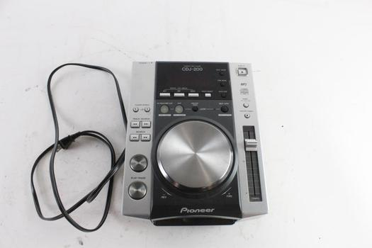 Pioneer Professional Table-Top DJ CD Player