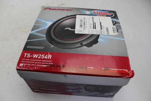 Pioneer TS-W254R Champion Series 1-Way 10? Car Subwoofer