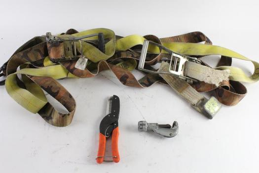 Pipe Cutter, Snips, And More, 4 Pieces