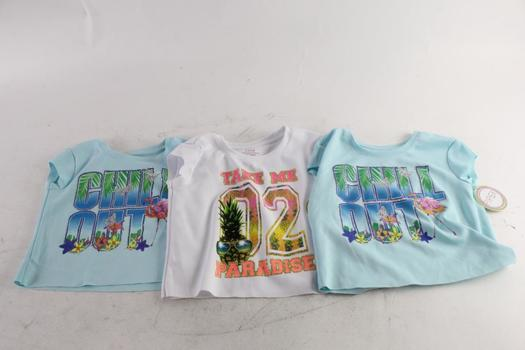 Piper Girls Sleeveless Shirts, XS And S, 3 Pieces