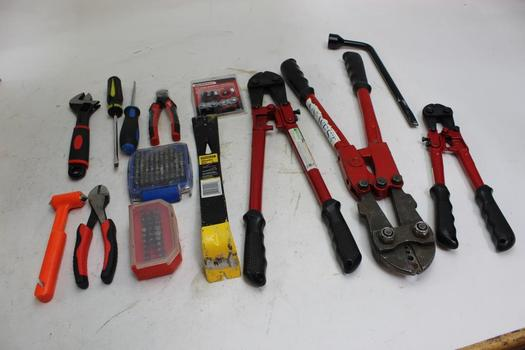 Pittsburgh, Milwaukee And More Assorted Tools, 8+ Pieces