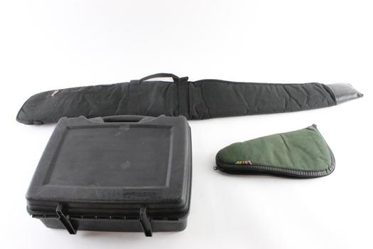 Plano Hard Shell Gun Case And More, 3 Pieces