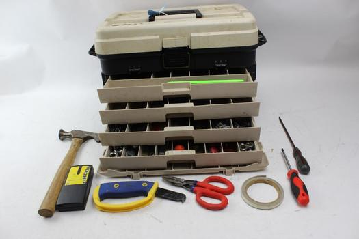 Plano Tackle Box, Sockets, Stanley Ratchet And More: 10+ Pcs