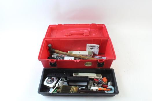 Plano Tool Box With Tools