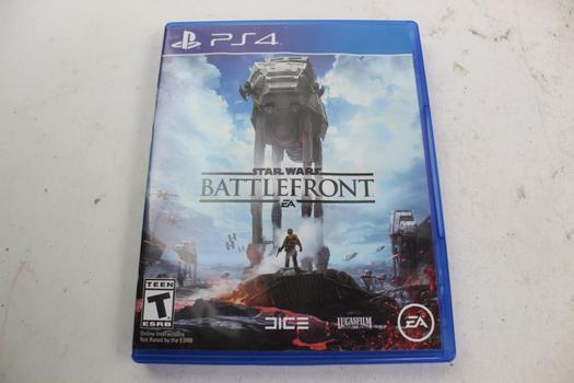 PlayStation 4 Star Wars Battlefront Video Game