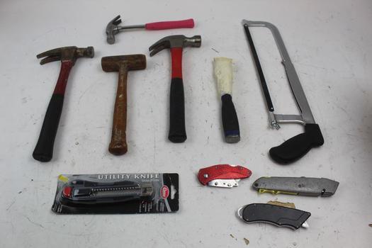 Pliers, Screwdrivers, & More; 10+ Pieces