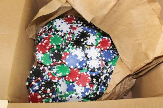 Poker Chips, 100+ Pieces