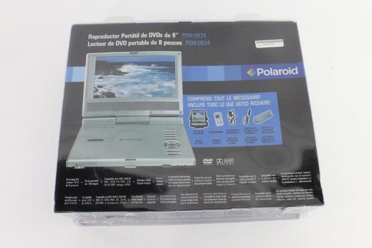 "Polaroid 8"" Portable DVD Player"