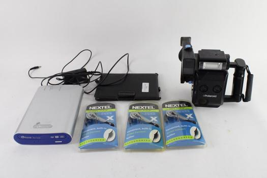 Polaroid Instant Camera And More, 6 Pieces